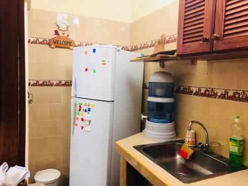 A kitchen or kitchenette at Apartamento Independiente