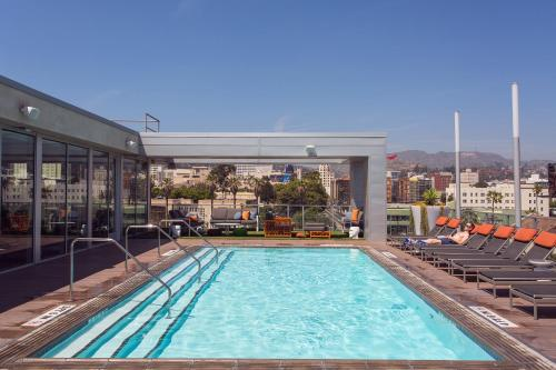 The swimming pool at or near HOLLYWOOD LA LUXURY
