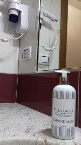 A bathroom at Residence Hotel Villa Laura