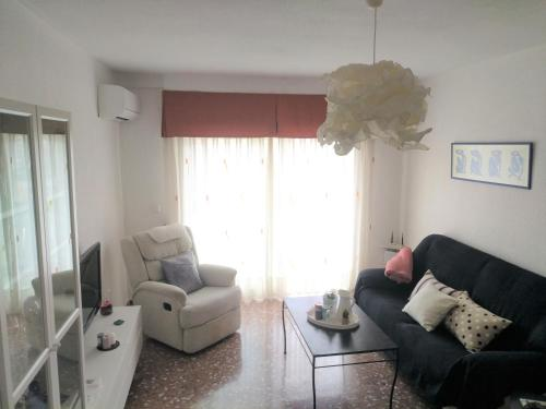 Zona de estar de Apartamento Ciudad Jardín