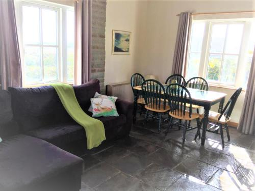 A seating area at Baile Slievemore Holiday Homes