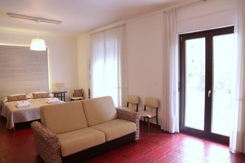 Posezení v ubytování Casa Arianna