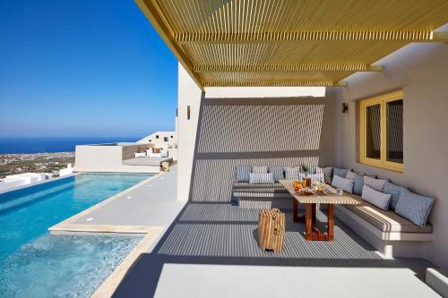 The swimming pool at or near North Luxury Villas