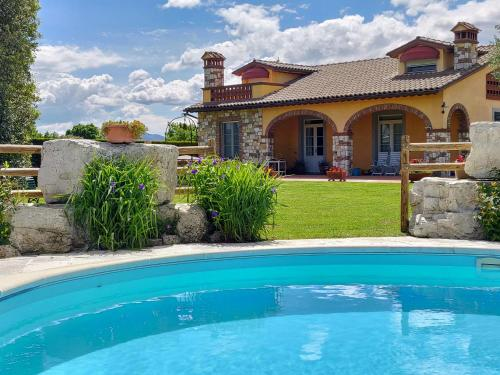 The swimming pool at or near Tuscan Villa exclusive use of private pool A/C Wifi Villa Briciola