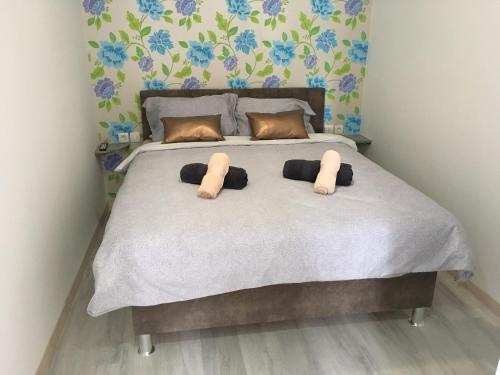 Ein Bett oder Betten in einem Zimmer der Unterkunft Follow the river!