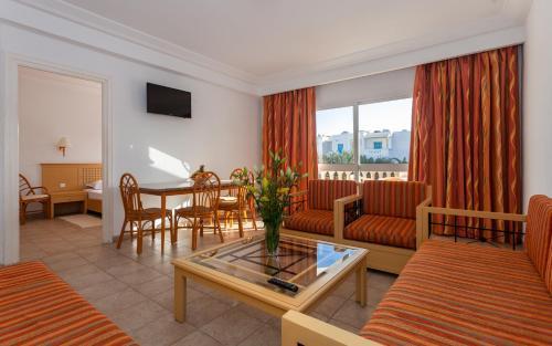 Atpūtas zona naktsmītnē Le Corail Appart'Hotel Yasmine Hammamet