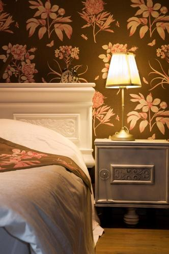 Cama o camas de una habitación en sleeping in bruges