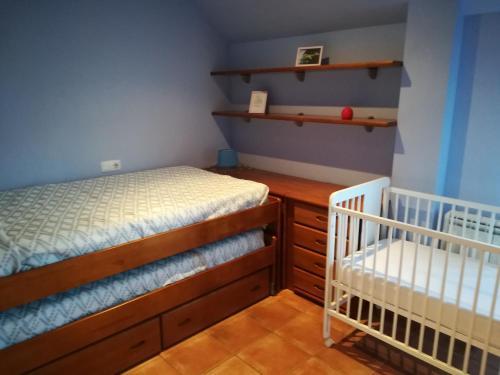 Cama o camas de una habitación en Cangas-Rías Baixas-Cies