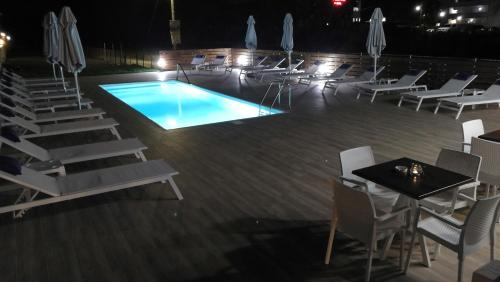The swimming pool at or near Emi Apartments
