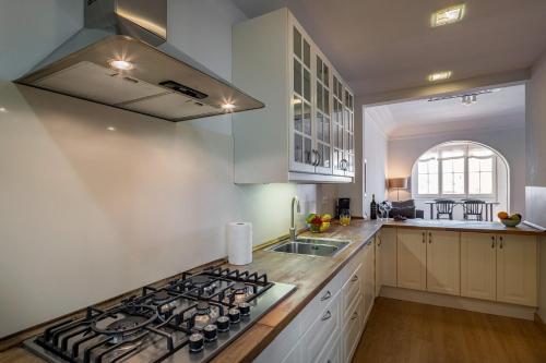 Küche/Küchenzeile in der Unterkunft Habitat Apartments Bailén