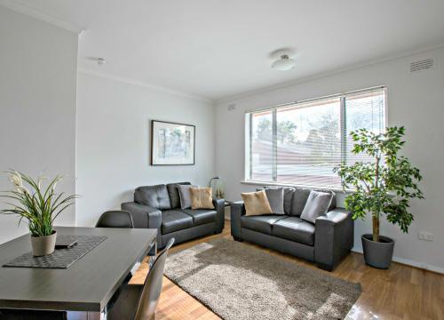 Zona de estar de Adelaide DressCircle Apartments - Childers Street