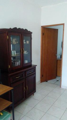 A television and/or entertainment center at Brisas de Borinquen