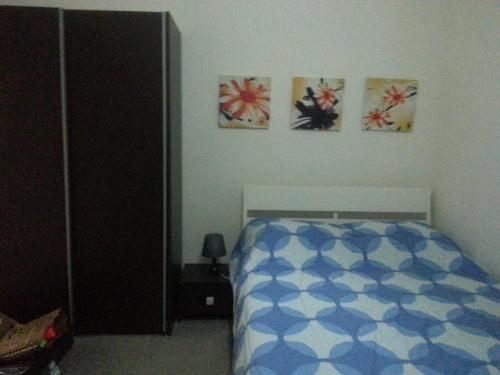 A bed or beds in a room at Beautifull Appartment In Sliema Malta