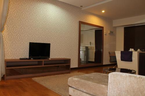 A television and/or entertainment center at Amazing Suites at Regalia KLCC