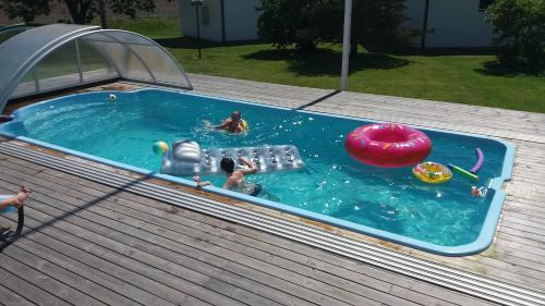 The swimming pool at or near Nordanå Gård