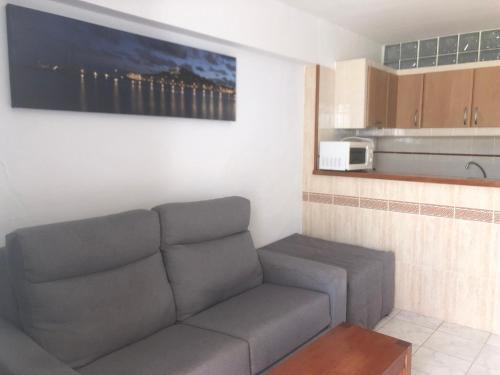 A seating area at Apartamentos Llevant
