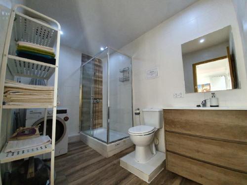 A bathroom at Barcelona Apartments Rent