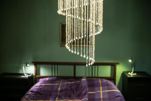 Postelja oz. postelje v sobi nastanitve Suite 22