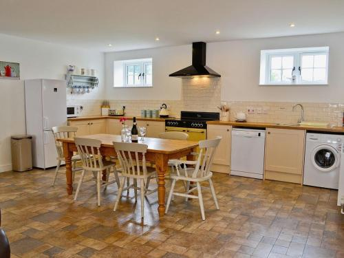 A kitchen or kitchenette at Burghley Barn