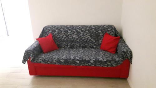 A seating area at Casa Zina