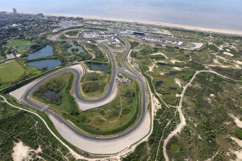 Een luchtfoto van Continentaiz Appartement