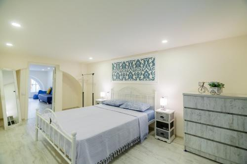Krevet ili kreveti u jedinici u okviru objekta Cozy apartment in the historic place