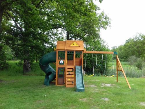 Children's play area at Ferme des Poulardieres