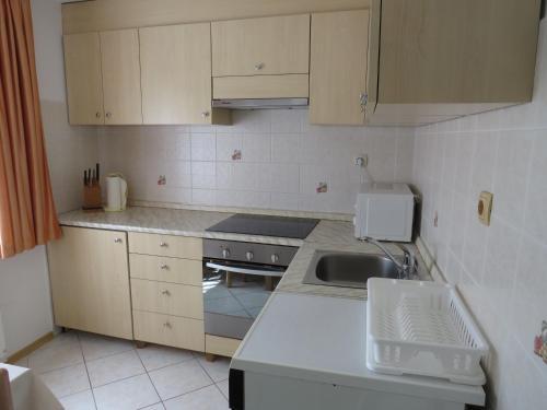 Kuhinja oz. manjša kuhinja v nastanitvi D-D