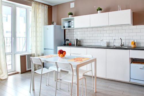 Кухня или мини-кухня в Ufa Kremlin