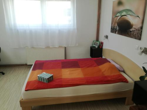Postelja oz. postelje v sobi nastanitve Bukor Apartments