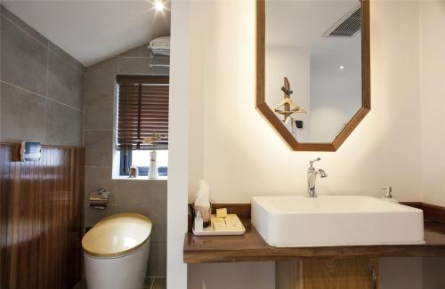Ein Badezimmer in der Unterkunft Juanxishan Boutique Villa