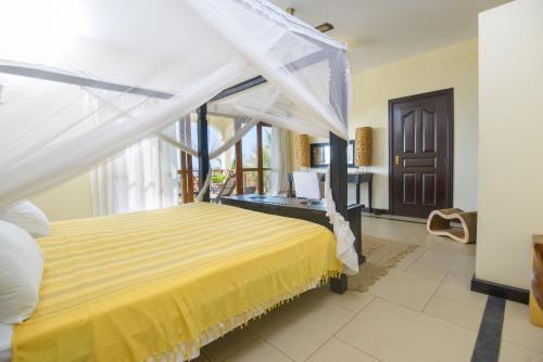 Cama o camas de una habitación en Blue Bay Cove