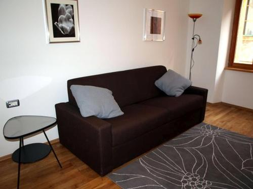 A seating area at Apartman 36