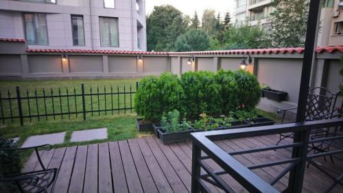A balcony or terrace at Apartment House Sofia