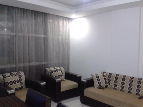 Гостиная зона в Sunlight Residence