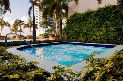 The swimming pool at or near Churchill Suites Miami Brickell - One Broadway