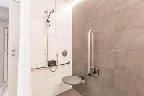 Een badkamer bij Vakantie Domein Ter Helme
