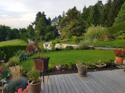 A garden outside Kriška vas, Gujžina holidays