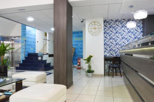 A bathroom at Apartamentos Tinoca