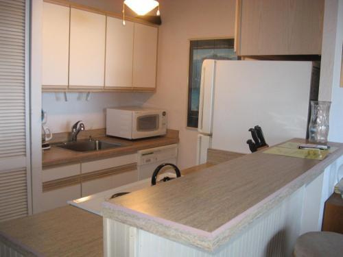 A kitchen or kitchenette at Maui Vista 2411