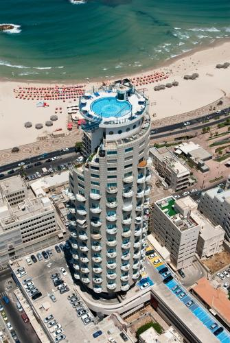A bird's-eye view of Isrotel Tower Hotel