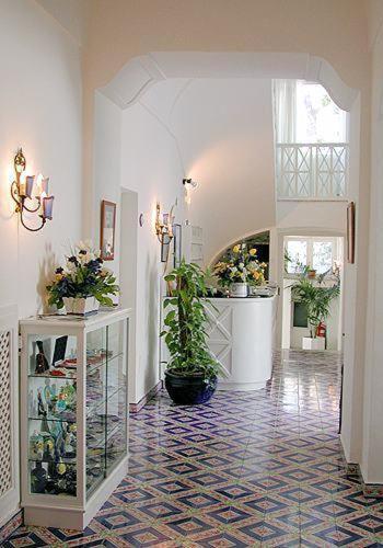 Hall ou réception de l'établissement Hotel Casa Caprile