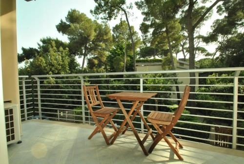A balcony or terrace at Residenza Venus