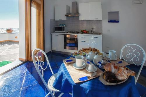 Cucina o angolo cottura di Villa Antica Macina