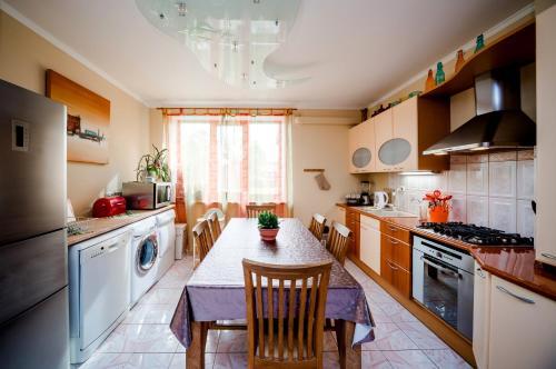A kitchen or kitchenette at Villa Riga