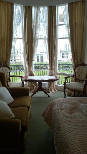 A seating area at Alston House Hotel