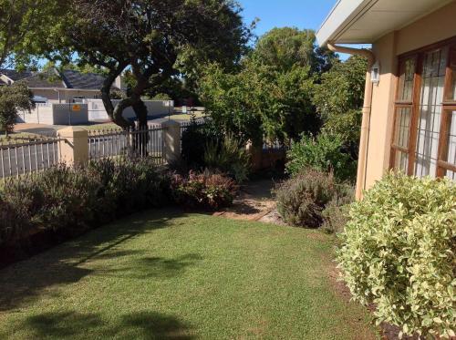 A garden outside Ringwood Villa
