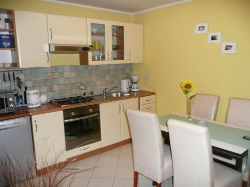 A kitchen or kitchenette at Holiday Home Krasica