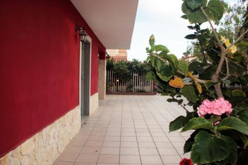 A balcony or terrace at Marispica