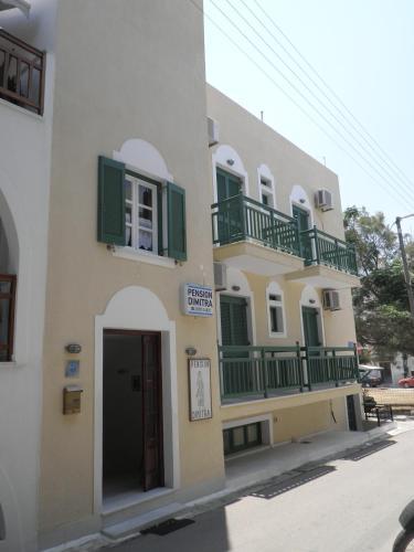 Gedung tempat guest house berlokasi